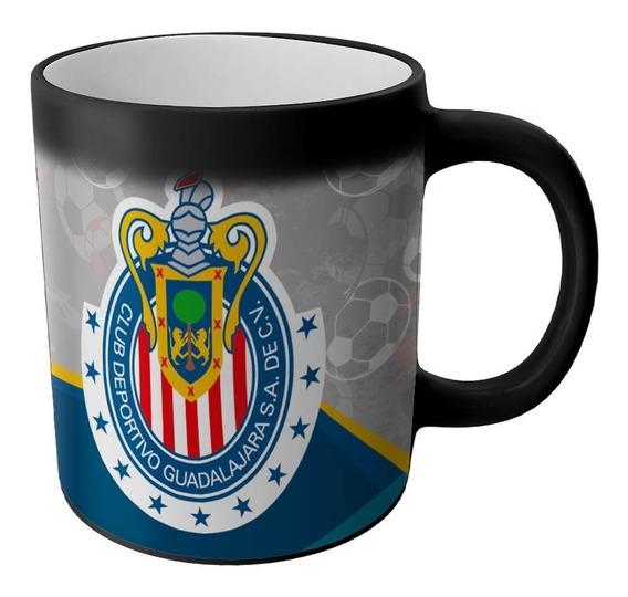 Taza Magica Chivas Guadalajara Productos Futbol Mexicano Articulos Regalos Cosas Accesorios Taza Sublimada Personalizada