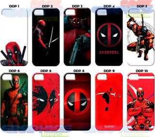 Capa Capinha Deadpool Marvel Case Moto G G2 G3 X X2 X3 E E2