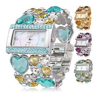 Relógio Com Pulseira De Luxo