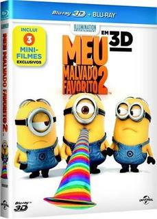Filme Meu Malvado Favorito 2 (blu-ray 3d + Blu-ray)