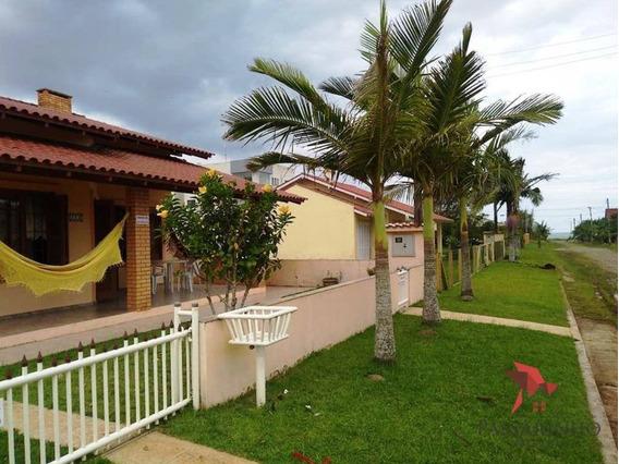 Casa Com 3 Dormitórios À Venda, 147 M² Por R$ 335.000,00 - Praia Paraíso - Torres/rs - Ca0535