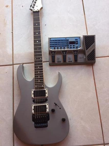 Guitarra Ibanez + Pedaleira