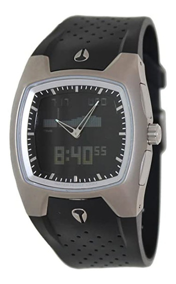 Relógio Nixon Super Hero Ii Ti/pu Titanium - Original