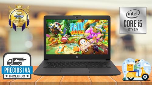 Imagen 1 de 6 de Lapto Portátil Hp Core I5-10210u 1.60 Ghz 10ma  8gb Hdd 1000