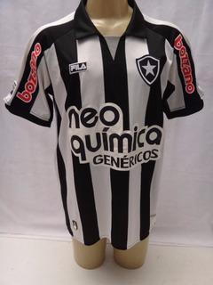 Camisa De Futebol Do Botafogo 2010 Neo Quimica Fila #10 Pq1