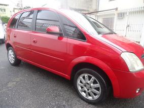 Meriva 1.8 Automatica 2009 Vermelha