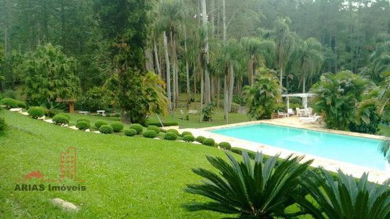 Sítio À Venda, 665500 M² Por R$ 13.000.000 - Parque Itapeti - Mogi Das Cruzes/sp - Si0004