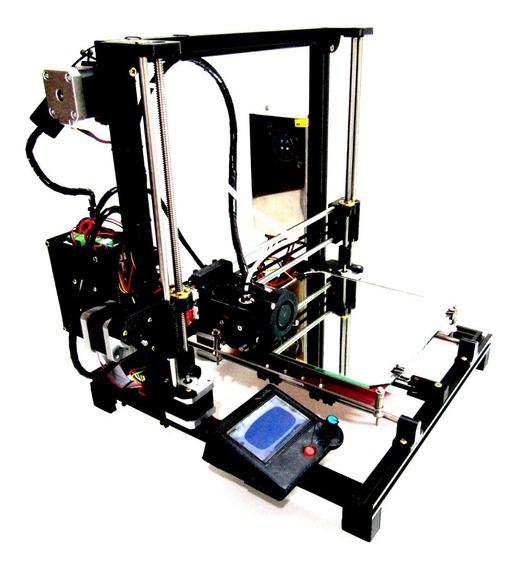 Impressora 3d Siquer Sx5 Black Com Nivelamento
