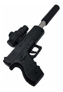 2 Pistolas De Juguete Lanza Bolas De Hidrogel + 1 Regalo.