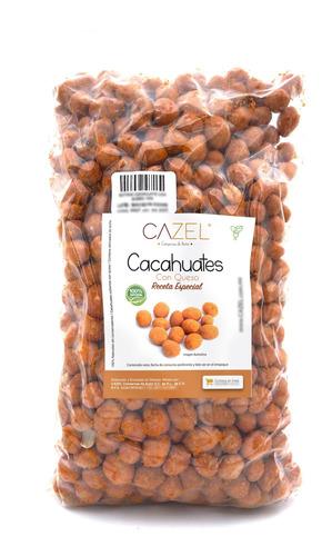 Imagen 1 de 2 de Cacahuates Con Queso Cheddar Receta Especial 1kg