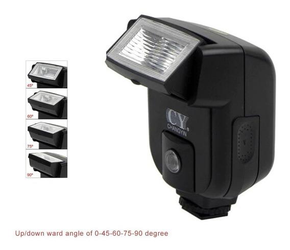 Flash Câmera Dslr Nikon/canon/sony Alta Qualidade Não É Ettl