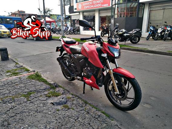 Tvs Apache 200 Modelo 2018, Excelente Estado *biker Shop