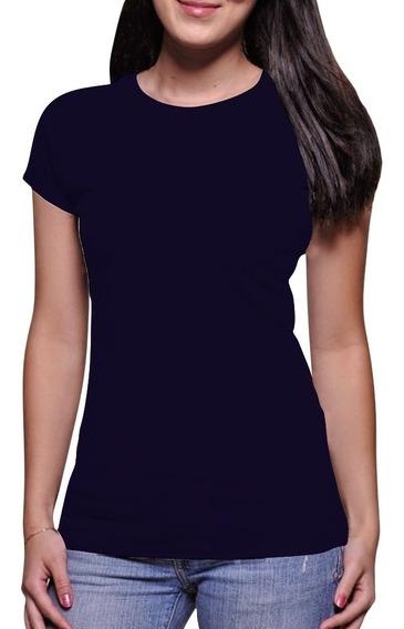 Camiseta Feminina Básica Atacado Algodão 30.1