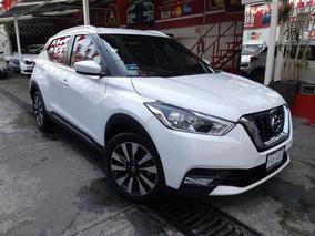 2017 Nissan Kicks Advance Aut Blanco Perla