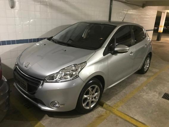 Peugeot 208 Automático Única Dona Estado De Novo Couro