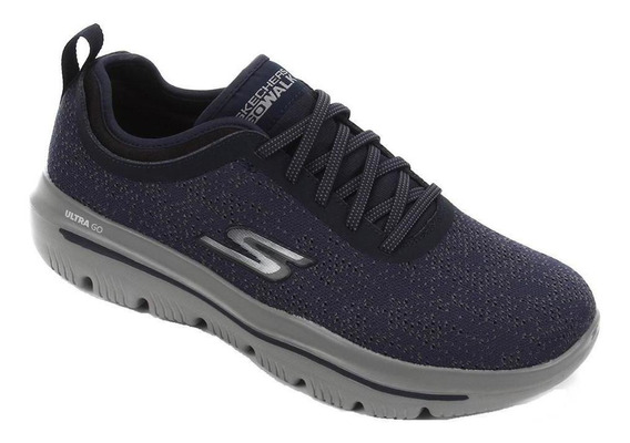 Tênis Skechers Go Walk Evolution Ultra Logic Masc 54740-nvgy
