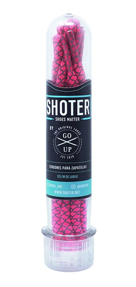 Shoter Cordones Reflectivos Rosa By Go Up Laces