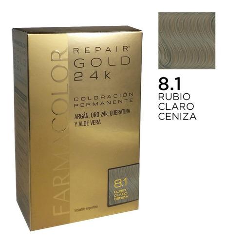Farmacolor R Gold Rub.cla Cen N° 8.1 X1 Estuche. De Fábrica.