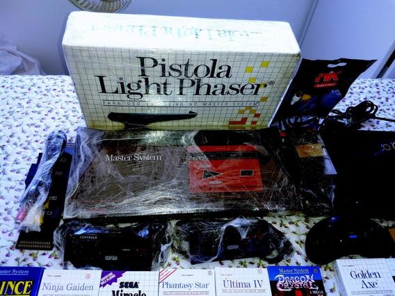 Lote Master System ( Jogos 125 Com Mine Caixas )
