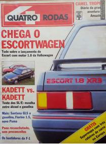 Revista 4 Rodas Nº 346 Maio 1989