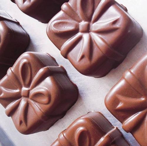 Forma De Silicone Pao De Mel Laco Para Chocolate Pascoa
