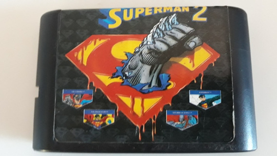 The Death And Return Of Superman 2 - Mega Drive - Sega
