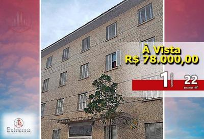 Kitnet Com 1 Dormitório À Venda, 22 M² Por R$ 78.000 - Cidade Ocian - Praia Grande/sp - Kn0104