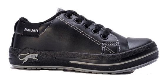 Zapatillas Jaguar Mujer Cuero Ecologico Borcegos Zapatos