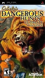 Cabelas Dangerous Hunts Ultimate Challenge Psp De Colección!
