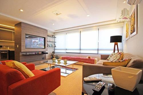 Imagem 1 de 18 de Apartamento Mobiliado No Polo Imediações Shopping Iguatemi - Ap3350