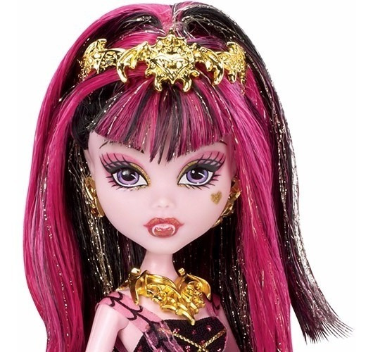 Boneca Monster High Draculaura 13 Witshes - Assinada