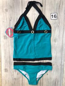 Traje De Baño Bikini Niña Aguaclara Talla 16