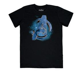 Paq 2 Playeras Avengers Endgame Marvel Máscara De Látex