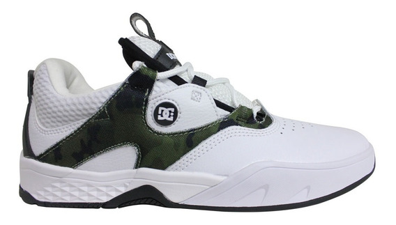 Tênis Dc Shoes Kalis S - White Camo