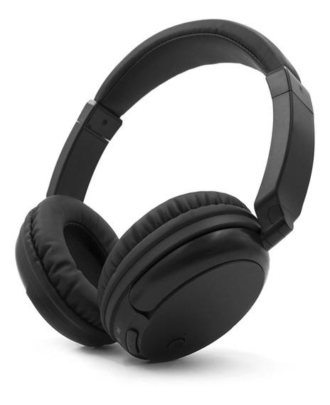Fones De Ouvido Sem Fio Fm Over-ear Music Receiver Aux
