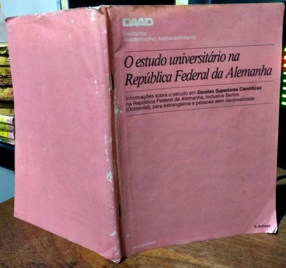O Estudo Universitário Na República Federal Da Alemanha