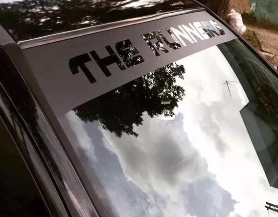 Testeira De Parabrisa Adesivo Automotivo Envelopamento Faixa