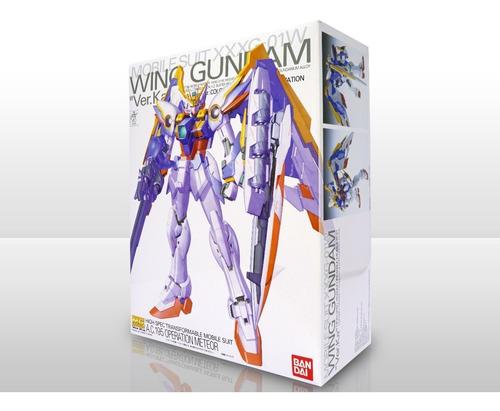 Imagen 1 de 10 de Gunpla - Mg - Master Grade - Wing Gundam Ver. Ka 1/100