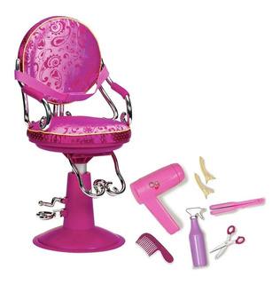 Our Generation Silla De Salon De Belleza Con Accesorios Edu