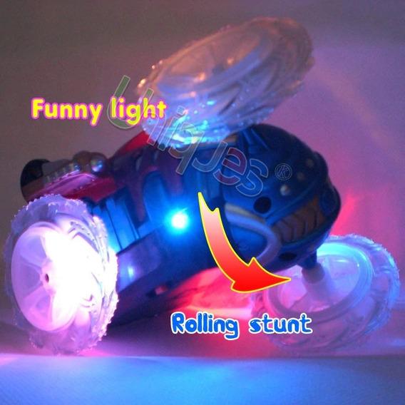 Carro Maluco Rc-luz,dança,gira 360g C/pilhas (ver Vídeo)