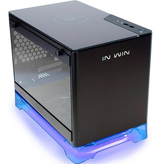 Gabinete In Win A1 Black Mini Itx 600w Vidrio Templado Rgb