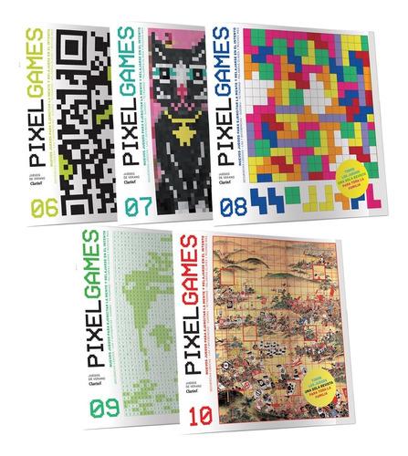 Imagen 1 de 6 de Clarín Colección Pixel Games Set 2 De 5 Ediciones
