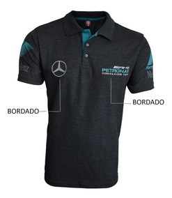 Camisa Polo Formula 1 Mercedes Petronas Amg