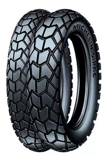 Par Pneu 90/90-19+110/90-17 Sirac Bros 125/150/160 Michelin