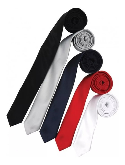 Corbata Angosta / Corbatin - Barios Colores.