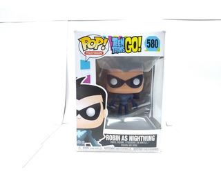 Funko Pop N°580 Teen Titans Go!nightwing Vinyl Figure Sumun