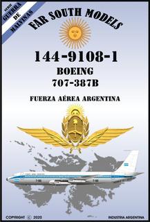 Far South Models 1/144 144-9108-1 Boeing 707-387b