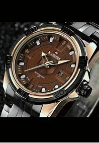 Relógio Naviforce Luxo Original Pronta Entrega Frete Grátis