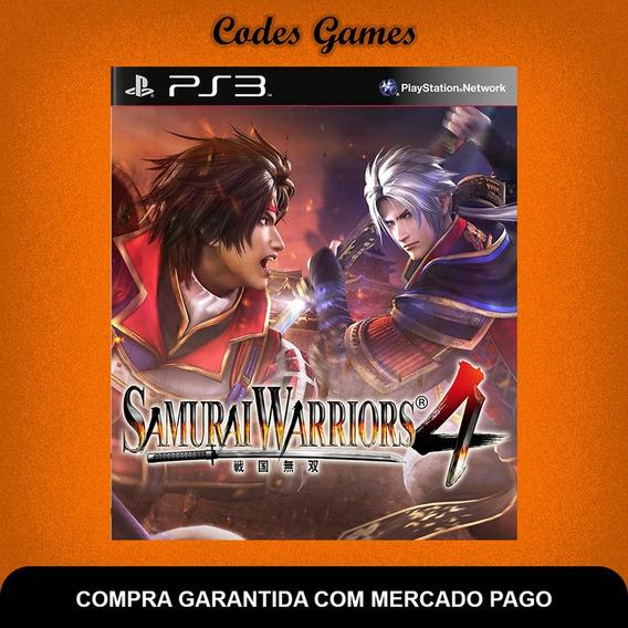 Samurai Warriors 4 - Ps3 - Pronta Entrega