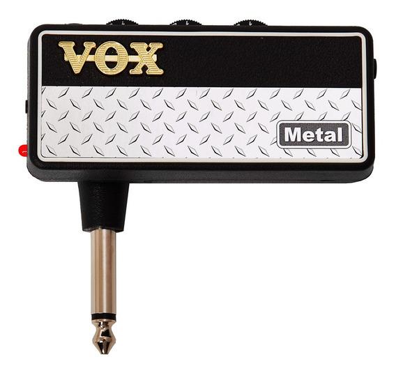 Amplificador De Auriculares Para Guitarra Vox Amplug 2 Metal
